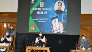 Hon'ble Chief Minister, Himachal Pradesh Launches Himachal Covid Care Mobile App