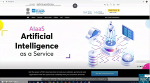 Launch of AIaaS - AI as a Service by DG, NIC