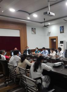 Inauguration of  Poll - Sampark Mobile App developed by NIC Golaghat
