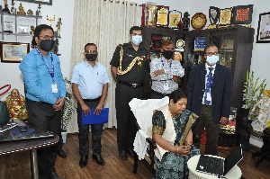 Honorable Governor of Chhattisgarh launched Public Grievance Portal eSamadhan