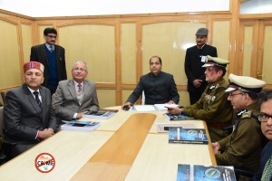 Hon'ble Chief Minister, Himachal Pradesh Launches Crime Fee Himachal Mobile App