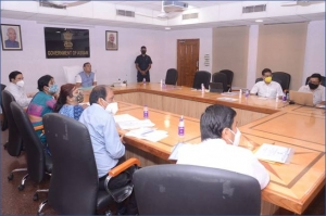 Honble Chief Minister, Assam, reviews KRITAGYATA (Online Pension Sanction and Payment Tracking)