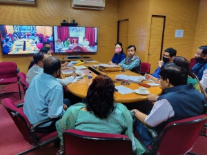 """""""Pension Adalat"""" held through VC by Pension & Public Grievances Department, Assam, with Nagaon District pensioners"""