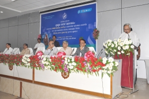 Chief Minister, Odisha addressing on the occasion
