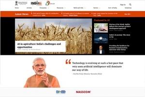 Shri Ravi Shankar Prasad, Honorable Union Minister launches National AI Portal of India