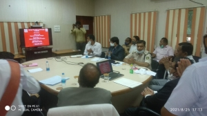 Honourable District and Sessions Judge launched  District Website of Mahasamund Police, Chhattisgarh