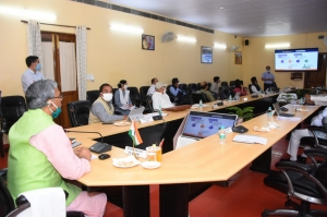 Covid-19 and launch of Telemedicine Services by Chief Minister of Uttarakhand