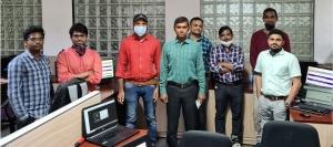 Shri Ashok Maurya, Sr TD with his team