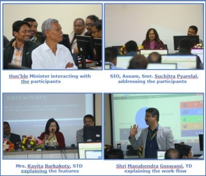 Glimpses of the Training Programme
