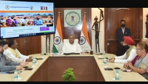 Honourable Chief Minister, Chhattisgarh inaugurated  Chhattisgarh State Food Commission Portal