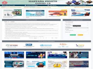 Snapshot of Haraadesh Portal