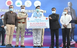 Launch of One Nation, One Ration Card in Union Territory CHANDIGARH