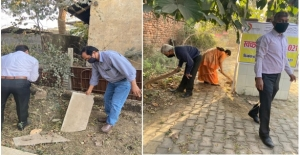 NIC CGSU UNDERTOOK COMMUNITY SANTATION  DURING SWACHCHHATA PAKHWADA