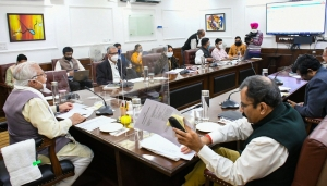 Haryana Chief Minister, Mr. Manohar Lal reviewed the progress of Human Resource Management System (HRMS) implementation on 16/11/2020