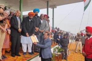 NIC Fatehgarh Sahib, Punjab Felicitated on Republic Day Function 26th January 2020